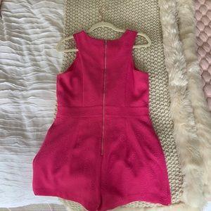 Kensie Dresses - Hot Pink Kensie Romper
